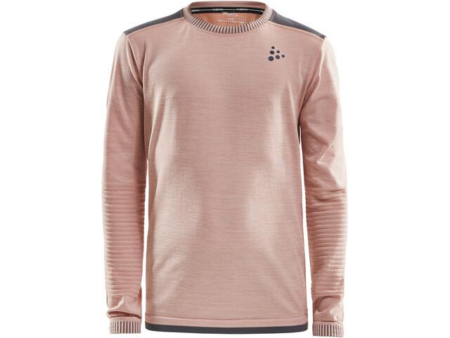 Craft Fuseknit Comfort Sweat-shirt Enfant, touch/dark grey melange